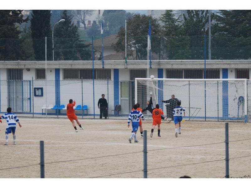 Il gol di Ventresini e il pareggio con il Torricella Sicura